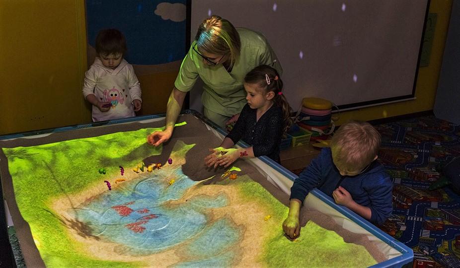 песок для интерактивной песочницы