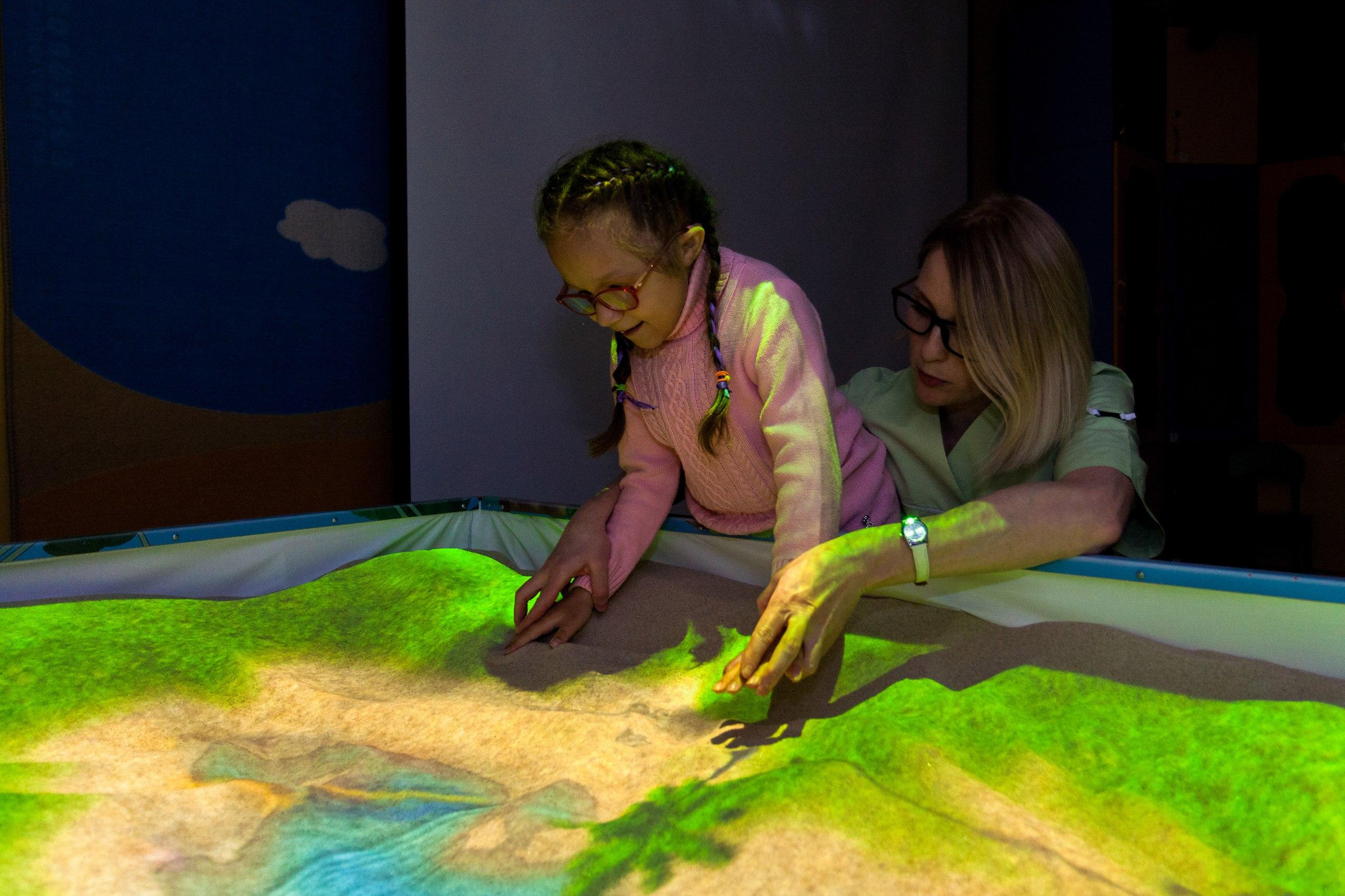 Интерактивная песочница для детей с ОВЗ
